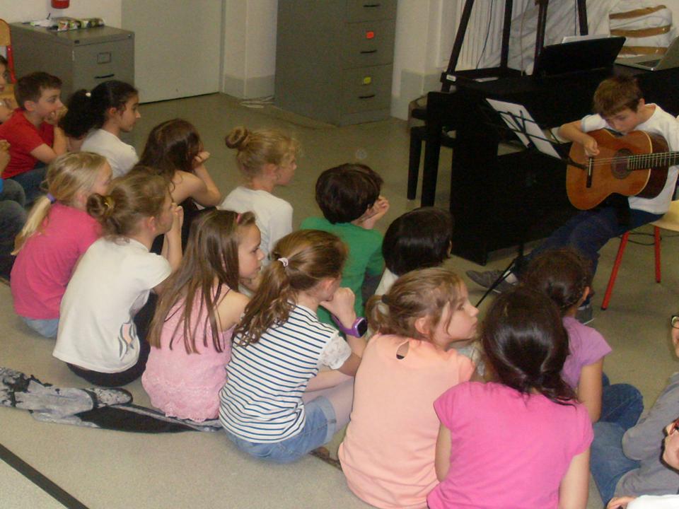 Projet musical en école élémentaire