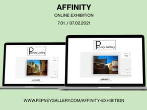 Online-выставка «AFFINITY», Pepney Gallery, Ирландия
