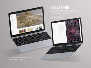 Онлайн-выставка «You are Here» от KATMAPPED