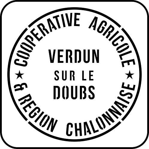 Schablone Cooperative Agricole