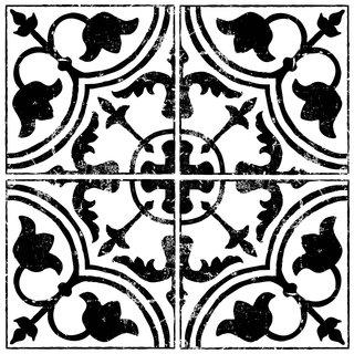 Decor Stempel Cubano Field Tile