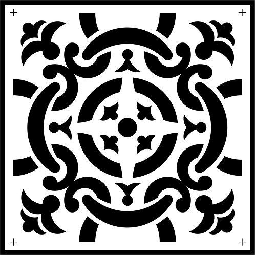 Schablone Celtic Tile