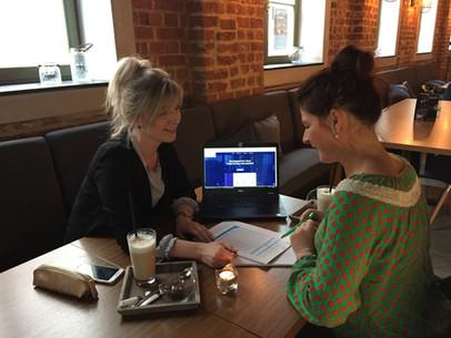 Beratung im Café 2