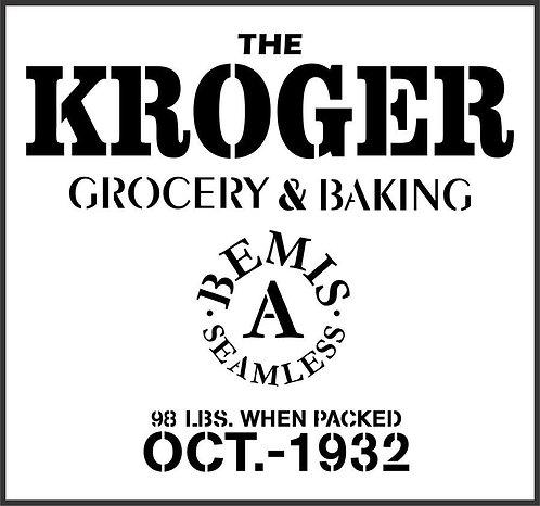 Schablone Kroger