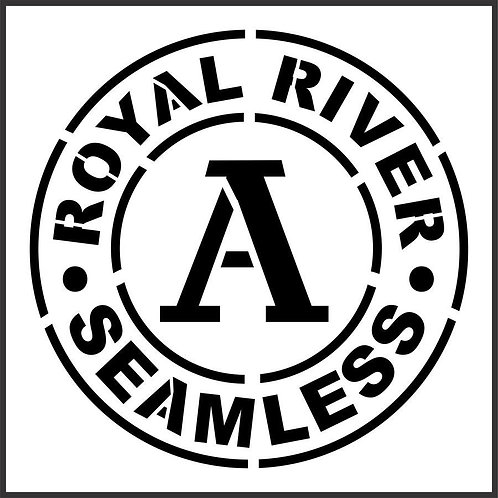 Schablone Royal River