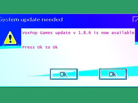 VoxPop Client Update 1.8.6 - 12.17.2020