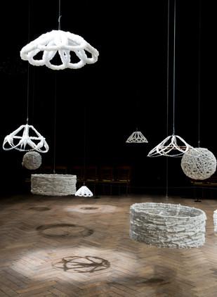 Sigalit Landau,Barbed Salt Lamp,2007,NB2