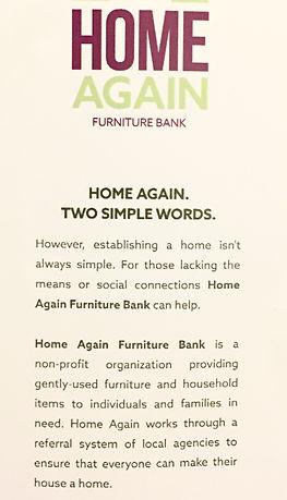 home again, furnture bank, homeagainfb, furniture, st. john's, nl