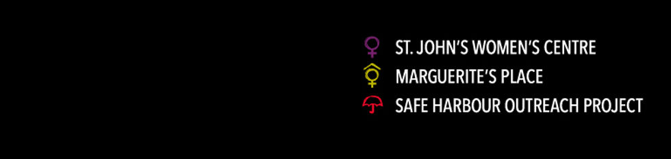 SJSWC, St. John's Status of Women Council, St. John's Women's Centre, Marguerite's Place, Safe Harbour OUtreach Project, nl
