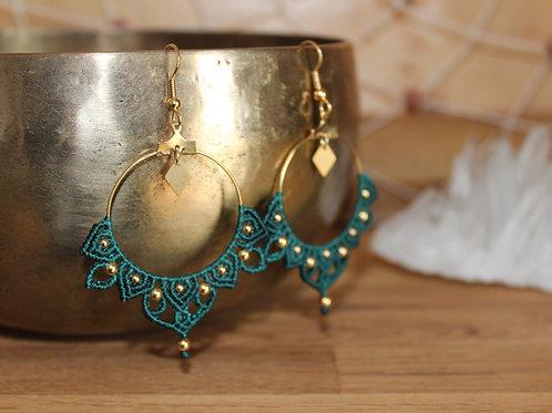 Boucles d'oreilles Mandala