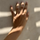 Thumbnail: Anillos Marginat en baño de Oro