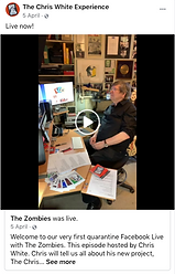 Chris White Facebook Live April 2020