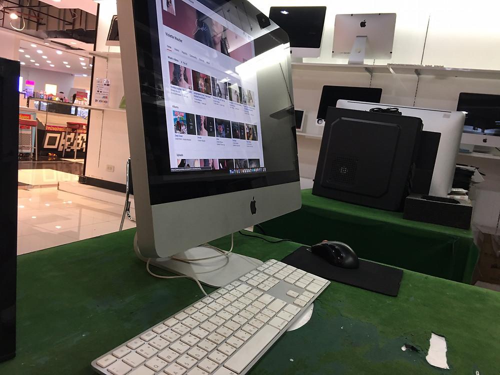 iMac เปิดไม่ติด หลังจากซ่อม สามารถเปิดติด ขึ้นภาพได้ปกติสมบูรณ์