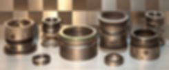 Photograph of a mechanical seal at WRES Ltd.
