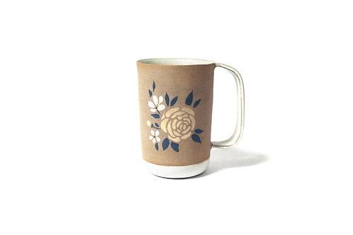 """Grand Mug """"fleurs"""""""