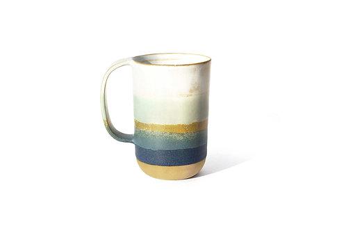 """Grand Mug """"bleu et céladon"""""""