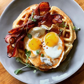 Weekends are for brunch & waffles._Brunc