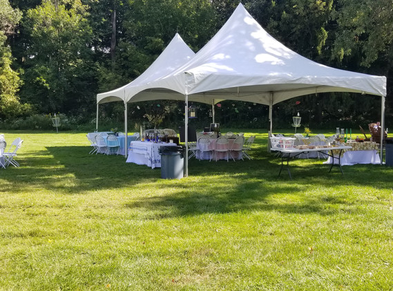 Tented Lawn Reception