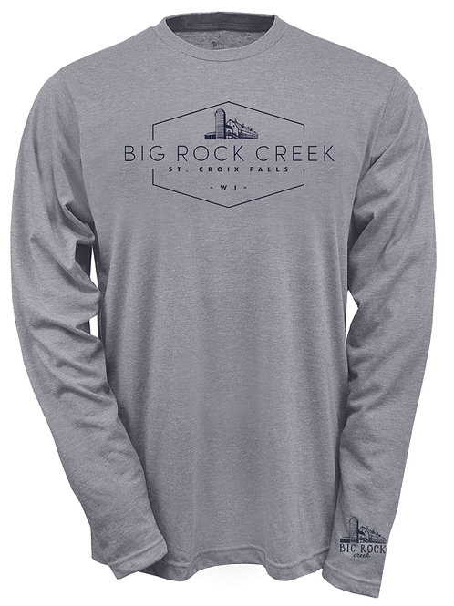 Long Sleeve Tri-Blend Crew, Unisex