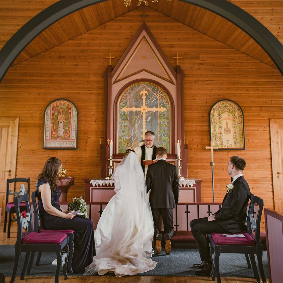 Bryllup Hanne-Royal Bilde av Elisa Bates