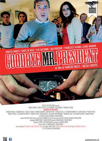 Goodbye Mr President LOCANDINA