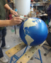 Spray Painting the Earth