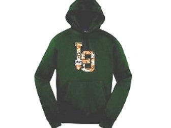 Green LO Camo Hoodie