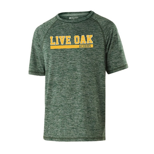 LO Men's Heathered Athletic Tee