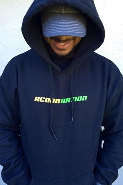 Black Acorn Nation Hoodie