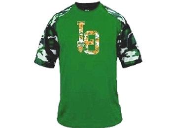 Green Camo Contender Athletic Tee