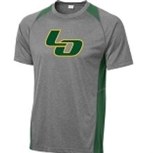 Green Contender Athletic Tee