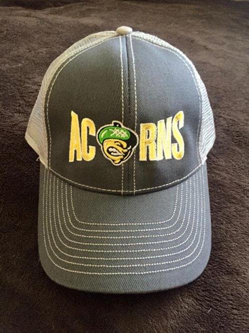ACORNS Grey Trucker Hat