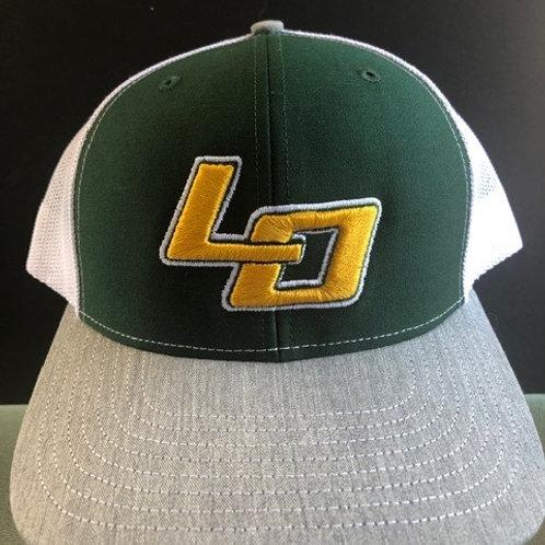 LO Green & White Hat