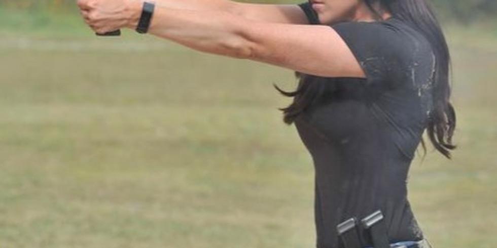 Ladies Pistol Open Range Day - August