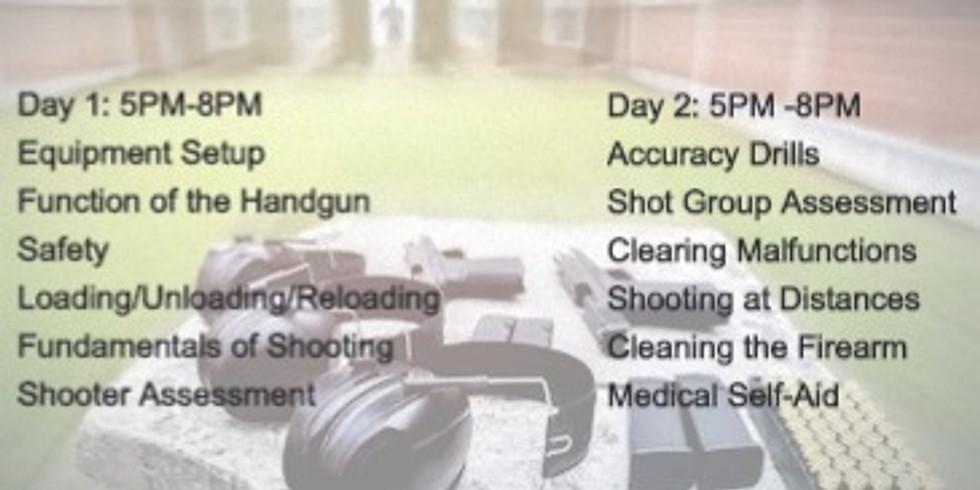 Basic Pistol Training