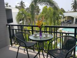 Private balcony & terrace
