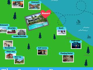สถานที่เที่ยวโดนใจใกล้ๆที่พัก The Serenity Resort Pattaya