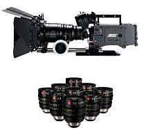 alquiler de cámaras y objetivos de video