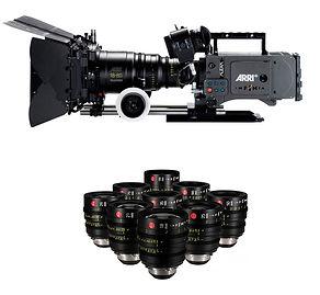 Cámaras profesionales de cine y televisión