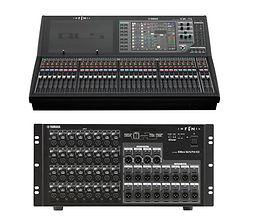 Mesa de sonido Yamaha QL5 con Dante y Rio