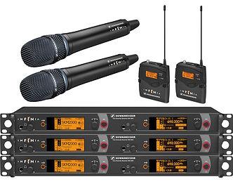 Microfonos Inalambricos Sennheiser EM2050