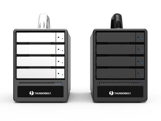 Stardom ST4-TL3+: Hệ thống lưu trữ RAID 4-khay Thunderbolt 3