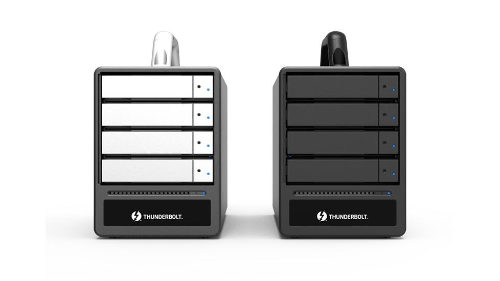 Stardom ST4-TL3+: Hệ thống lưu trữ RAID 4-khay Thunderbolt 3.