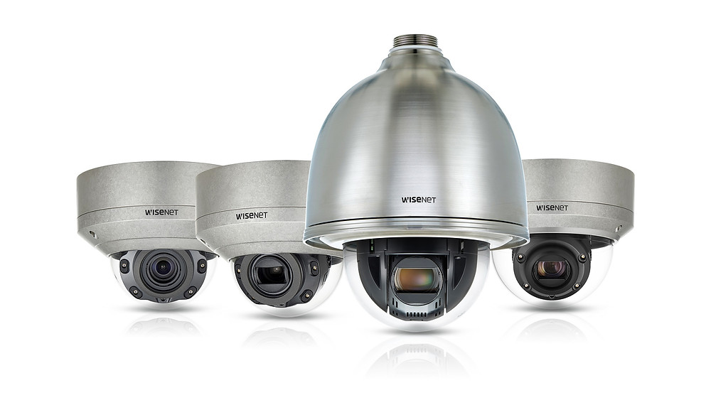 Hanwha Techwin trình làng dòng camera Wisenet X thép không gỉ.