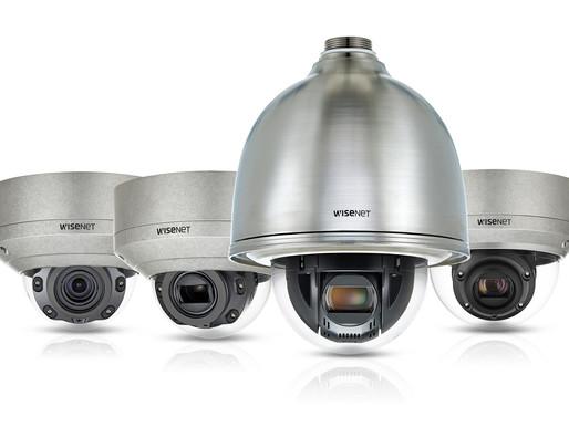 Hanwha Techwin trình làng dòng camera Wisenet X thép không gỉ