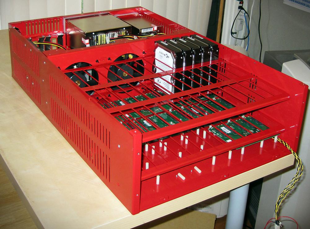 Backblaze có các Storage Pod độc lập sử dụng RAID 6.
