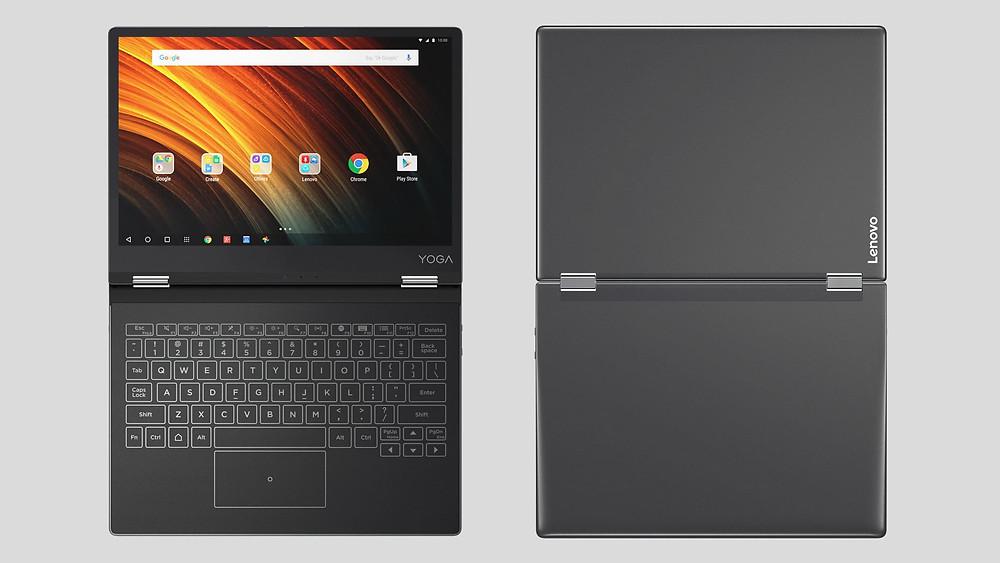 Lenovo giới thiệu máy tính bảng Yoga A12 giá 299 USD.