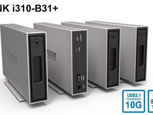Stardom i310-B31+: Bộ lưu trữ 1-khay HDD/SSD 2.5''/3.5'' USB 3.1 Gen 2