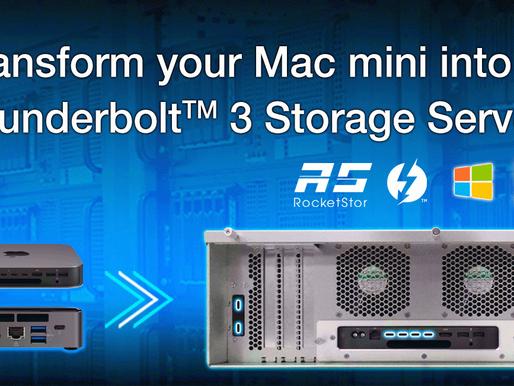 HighPoint RocketStor 6674T: Giải pháp máy chủ RAID Thunderbolt 3 cho hệ thống nhỏ gọn