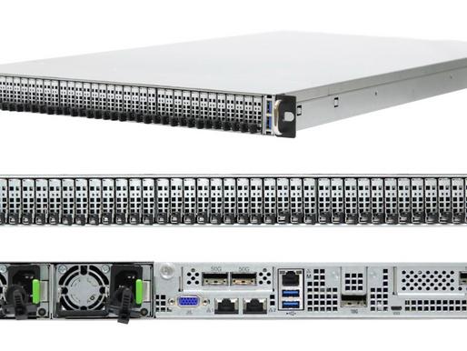 Máy chủ 1U 36 khay AIC OB127-LX tích hợp SSD NGSFF Samsung